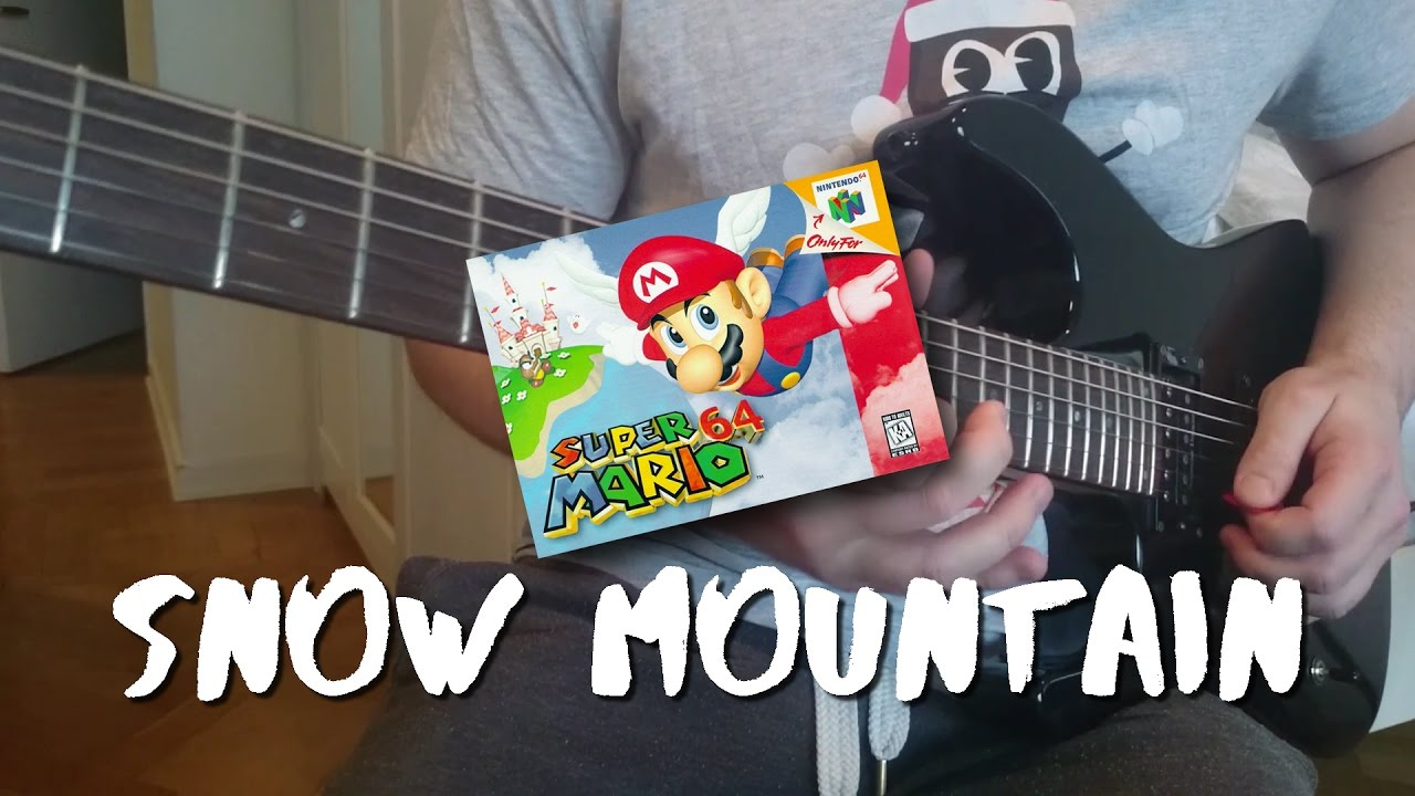 Super Mario 64 - Cool Cool Mountain [COVER]