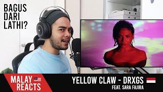 Download lagu Yellow Claw - DRXGS (Feat. Sara Fajira) - MALAY REACTION!