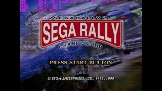 Sega Rally 2 - Demul v0.7a