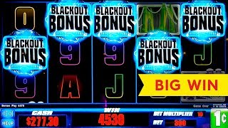 High Voltage Blackout Slot - BIG WIN SESSION - 5 SYMBOL TRIGGER!