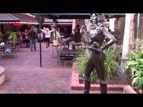 statues new orleans musical legends park