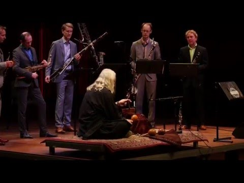 Moondog — Suite no. 1 — performed by Calefax Reed Quintet & Stefan Lakatos