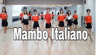 Mambo Italiano- Line Dance(Beginner)Susan Prats