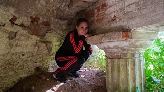 Усадьба Шлиппе в Любаново и засыпанный грот (02.08.15)(, 2016-05-21T16:54:48.000Z)