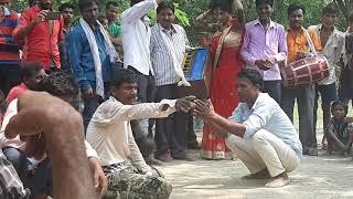 #पचरा(देखिये कि इस आदमी को देवी पचरा सुनने के बाद कैसे आई।)अवध संगीत पाटी सुभाषचंद्रपाठक।पिछवारा।