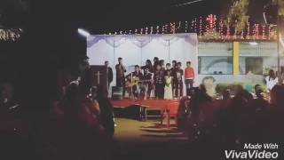 Marathi.  Adhi Vandan Deva Tula.BeatBoxing ,Guitar  and perfect Group.