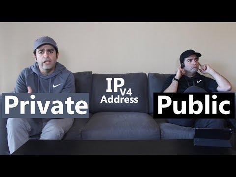 Private vs Public IP Address (Version 4)