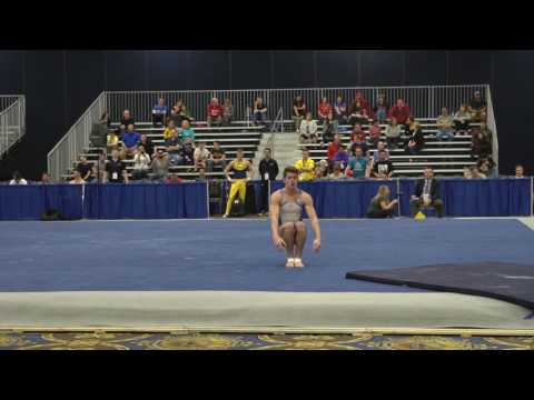 Jacob Moore  Floor Exercise  2017 Winter Cup Prelims