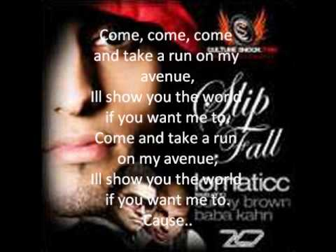 Lomaticc ft. sunny brown- Avenue lyrics (official)**