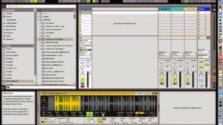 Ableton Live 9.5 Simpler: warping breaks and using the Glide mode for effects