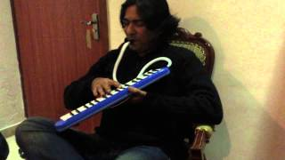 Mein tere sang kese. Sajjad Ali playing Melodica