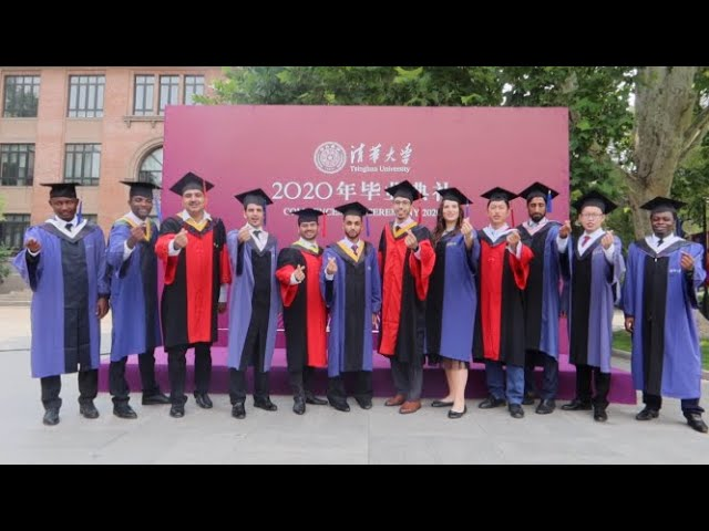 Video: GBJ's Haroon Hayat takes you on a tour of on-campus 2020 Tsinghua graduation ceremonies