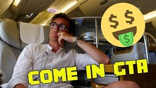 MI HANNO REGALATO LA BUSINESS CLASS + TOUR DI UNA CAMERA A 5 STELLE
