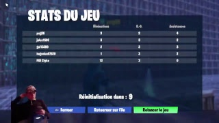 -FORTNITE- LIVE CHILL TOURNOIS (157 POINTS) !! #Lfb #Inoxtag #Nextaz #Michou #Lebouseuh [FR/ PS4]