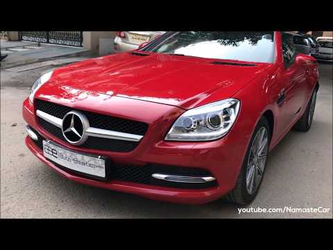 Mercedes-Benz SLK 350 BlueEFFICIENCY 2015 | Real-life Review