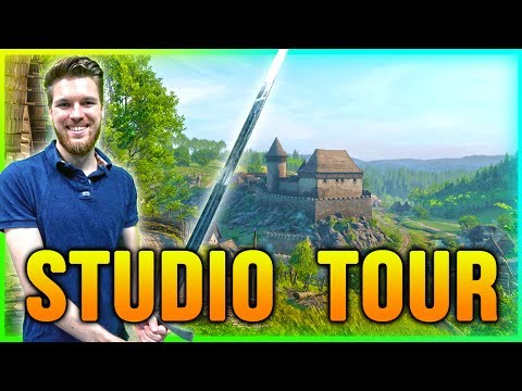 Kingdom Come: Deliverance - STUDIO TOUR!