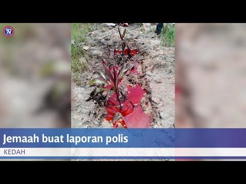 Laporan polis dibuat susulan tular kubur 'berdarah'