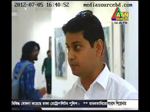 ATN Bangla Special Program on Dhaka Art Summit 2012 Part2