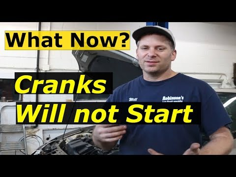 Cranks But wont Start - Troubleshooting a no start condition GM