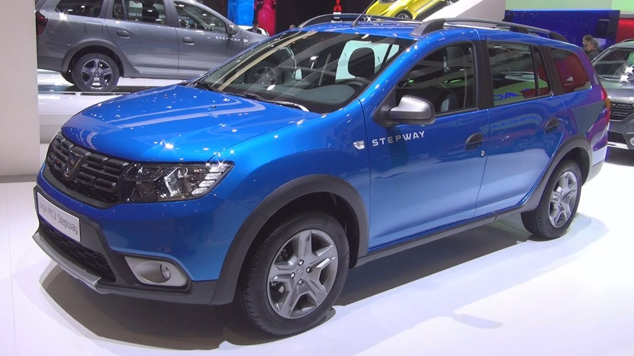 dacia logan mcv stepway tce 90 s s easy r 2017 exterior and interior youtube. Black Bedroom Furniture Sets. Home Design Ideas