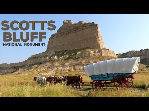 Scotts Bluff National Monument - Western Nebraska (Vlog)