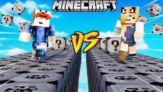 SZALONY WYŚCIG! - TROLL LUCKY BLOCKI MINECRAFT! (Troll Lucky Block Race) | Vito vs Bella