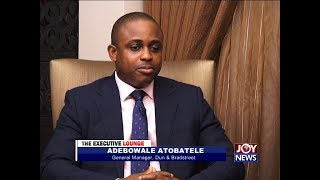 Adebowale Atobatele - The Executive Lounge on JoyNews 23-9-17