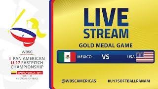 Mexico v Estados Unidos - I U-17 Women's Softball Pan American Championship - Final