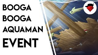 AquaMan Event with Friends | Booga Booga [ROBLOX]