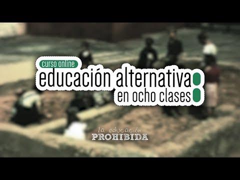 """Curso Online Educación Alternativa en 8 Clases"""""""