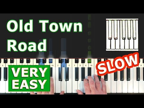 lil-nas-x---old-town-road---very-easy-piano-tutorial-slow---sheet-music-(synthesia)