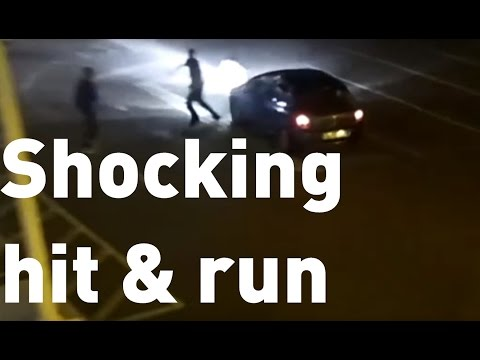 Shocking Footage Of Hit And Run Released By Norfolk Police