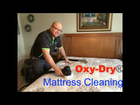 How To Clean A Mattress with Oxy-Dry®
