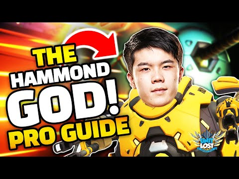 Overwatch - THE HAMMOND GOD! Pro Hammond Guide! (Wrecking Ball)