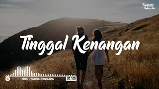 Gaby - Tinggal Kenangan (Lyrics)
