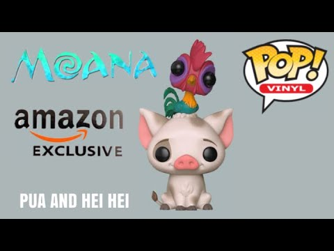 0e354ba8e8f Funko Pop Vinyl Pua And Hei Hei Amazon Exclusive No 422 Unboxing!Review  Disney Pixar Moana