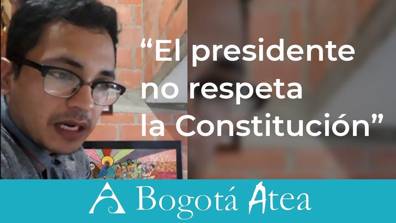 Ciudadano que entuteló a Duque y el que pidió laicidad al Concejo de Jericó dialogan con Bogotá Atea