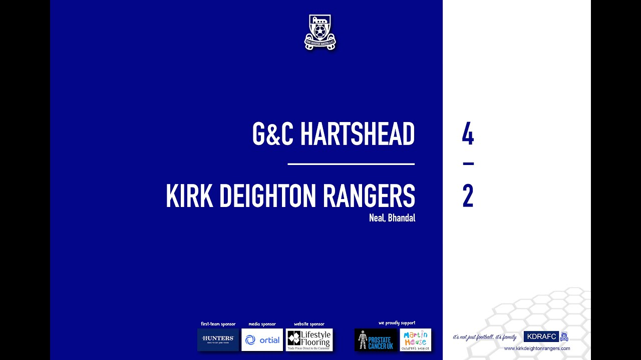 G&C Hartshead Match Highlights