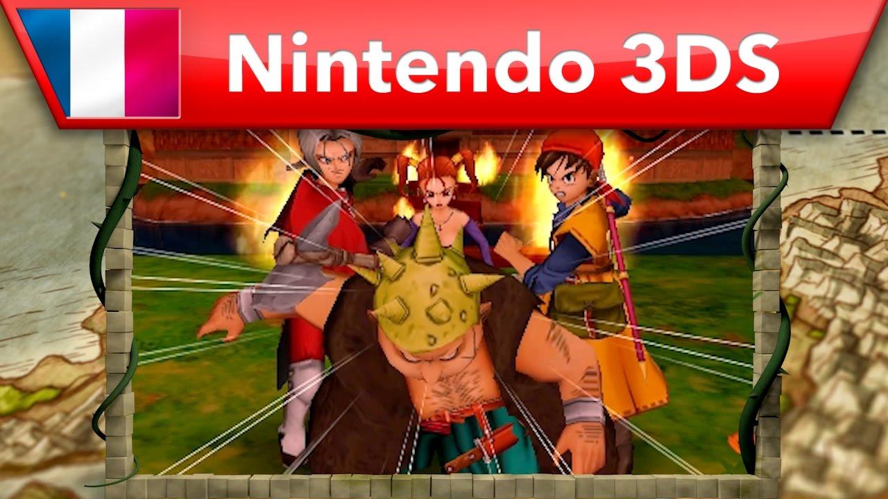 [3DS] L'histoire de Dragon Quest VIII : L'odyssée du roi maudit se dévoile au travers d'un nouveau trailer !
