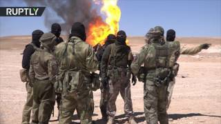 'To take revenge on terrorists': Special 'ISIS Hunters' unit arrives at outskirts of Palmyra