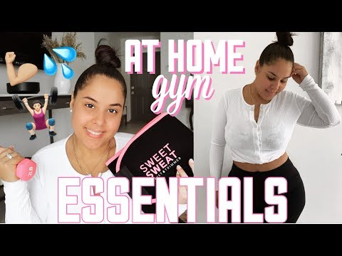 MY AT HOME GYM ESSENTIALS | Nelly Toledo