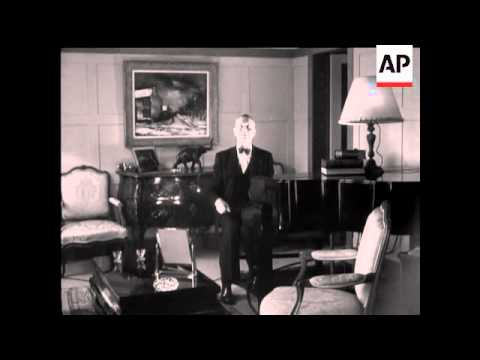 INTERVIEW WITH MAURICE CHEVALIER - SOUND