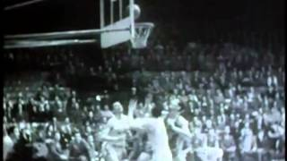 George Mikan vs Ed Mikan (Minneapolis Lakers vs. Chicago Stags)