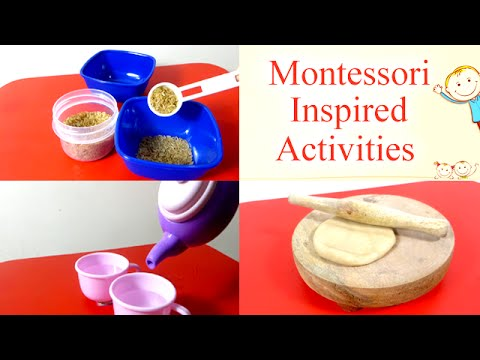 Montessori inspired educational toddler activities for for Educational crafts for preschoolers