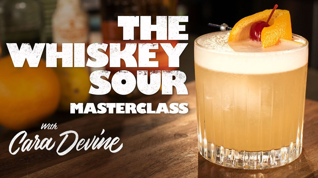 How to make a great Whiskey Sour - Masterclass