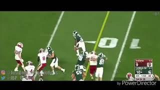 LJ Scott || The Next L'eveon Bell || Michigan State highlights