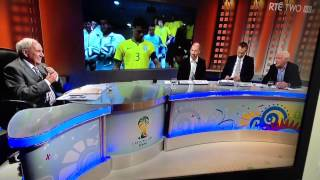 Eamonn Dunphy curses on air World Cup 2014