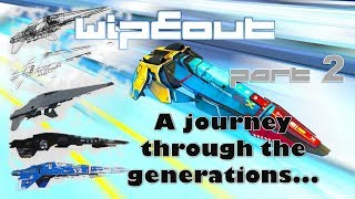 Wipeout: A journey through the generations Part 2 of 2 PS1-Saturn-PC-N64-PS2-PSP-PS3-PSVita-PS4