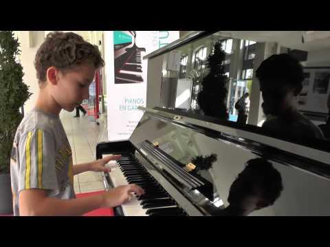 musique du film intouchables, piano de la gare.