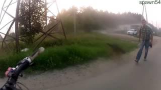 Шок видео! Собака напала на человека.